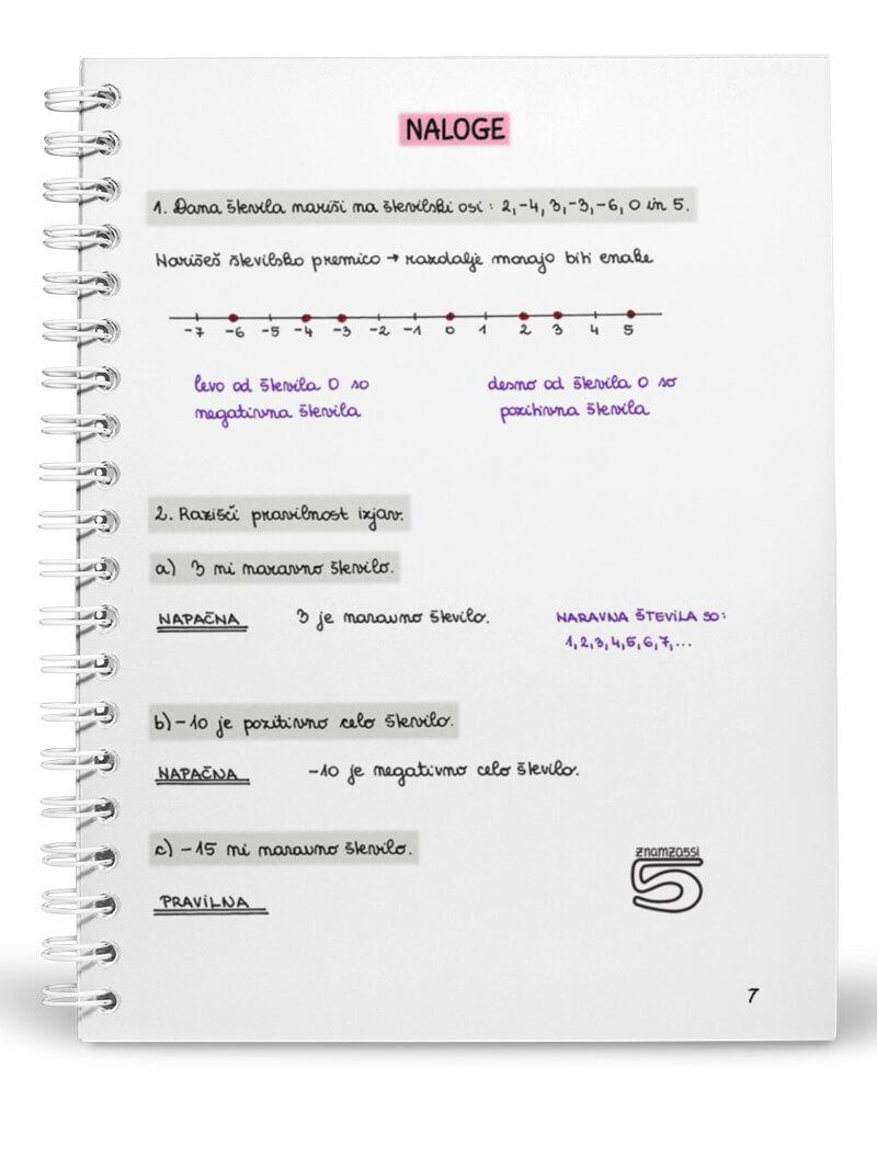 Knjiga 8 razred - 1 del notranja