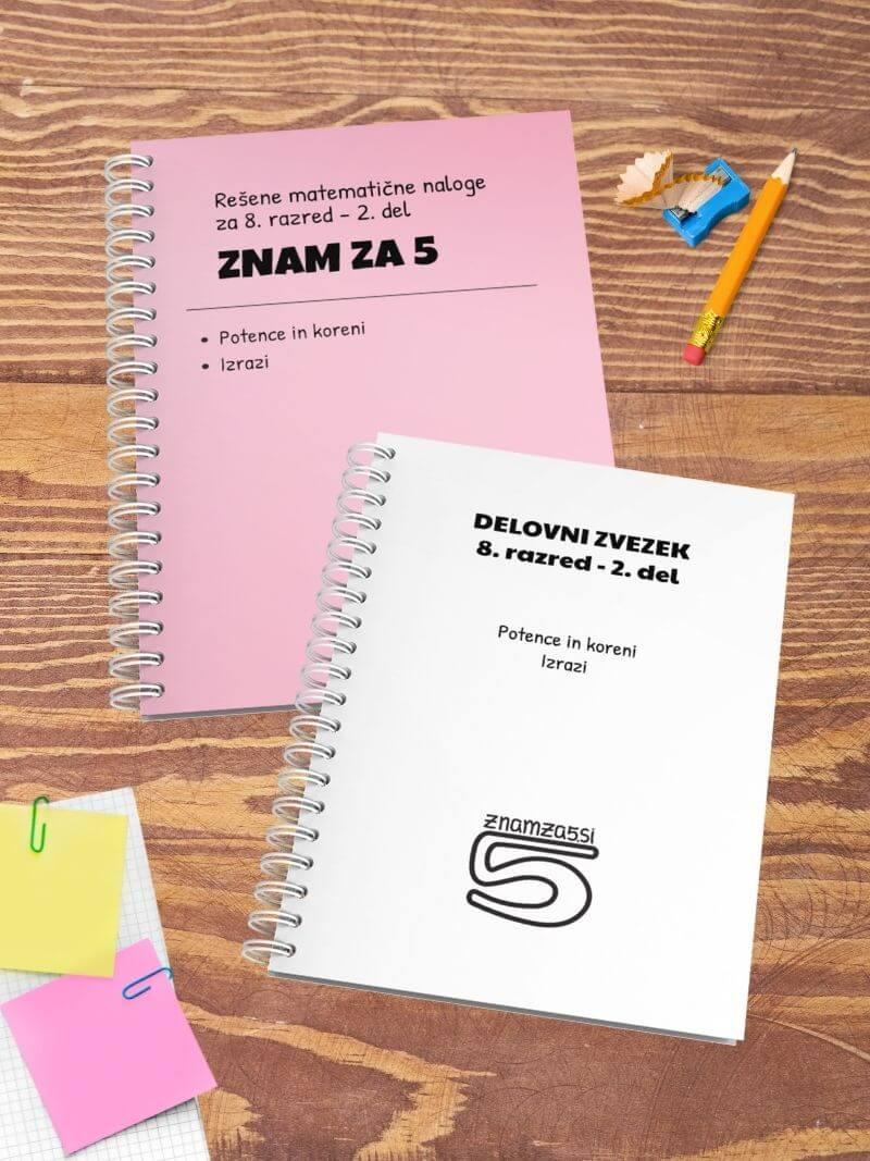 Knjiga 8 razred - 2 del miza