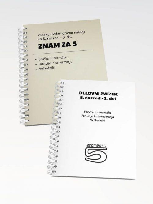 Knjiga 8 razred - 3 del siva