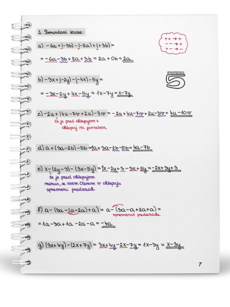 Knjiga 9 razred - 1 del notranja